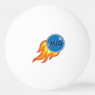 Aérolithe flamboyant personnalisé balle de ping pong