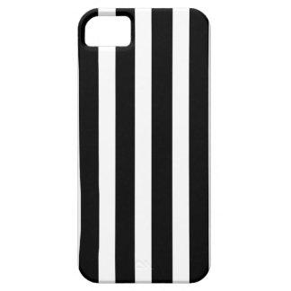 Affaire rayée noire et blanche | de téléphone chic coque barely there iPhone 5