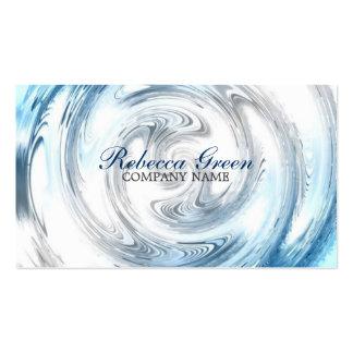 affaires modernes d'abrégé sur eau bleue promotion carte de visite