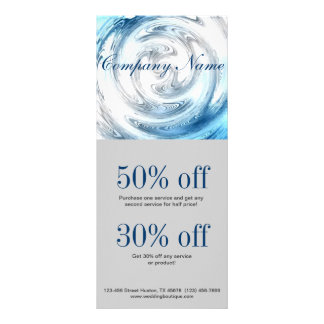 affaires modernes d'abrégé sur eau bleue promotion carte double
