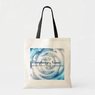 affaires modernes d'abrégé sur eau bleue promotion sacs de toile