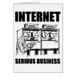 Affaires sérieuses d'Internet Cartes De Vœux