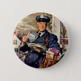 Affaires vintages, facteur fournissant des lettres badges