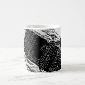 Affaires vintages, modèles architecturaux des mug