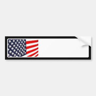 Affichage de lumière de drapeau américain autocollant pour voiture