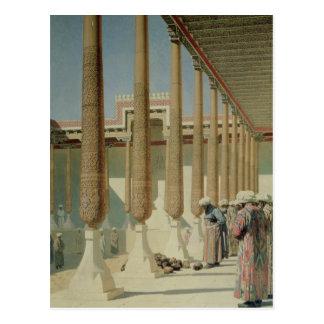 Affichage des trophées, 1871-72 carte postale