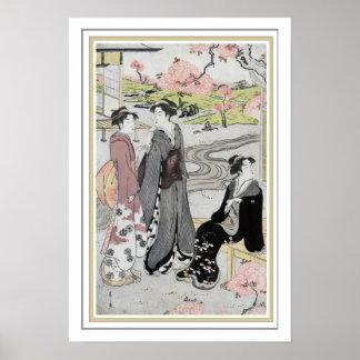 """Affiche 13 x 19 """"de jardin japonais"""" de Barbier Poster"""