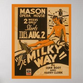 Affiche 1938 vintage de théâtre de WPA de boxeur Posters