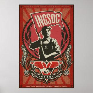 Affiche 1984 de propagande d'INGSOC Posters