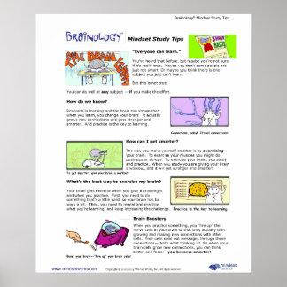 Affiche 1 de Brainology® : Bouts de mentalité Posters