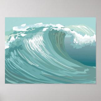 Affiche 1 de vague