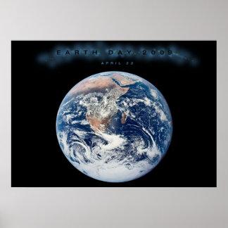 AFFICHE 2009 de jour de la terre