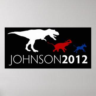 Affiche 2012 de Johnson