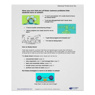 Affiche 2 de Brainology® : Étudiant commun Chaleng Posters