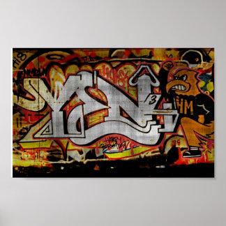 Affiche #2 de graffiti posters