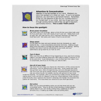 Affiche 3 de Brainology® : Attention et concentrat Posters