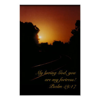 Affiche - 59:17 de psaume