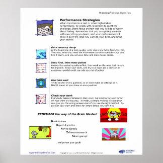 Affiche 8 de Brainology® : Stratégies de représent Posters