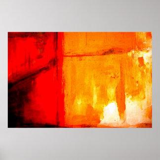 Affiche abstraite moderne d'impression d'art de pe