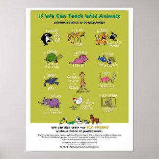 """Affiche animale Sans Force de formation (18"""" x24"""") Posters"""