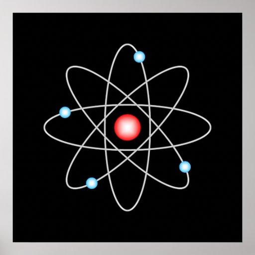 Affiche atomique