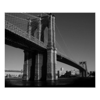 posters peinture pont brooklyn peinture pont brooklyn affiches art peinture pont brooklyn. Black Bedroom Furniture Sets. Home Design Ideas