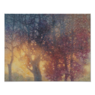Affiche colorée d'automne posters