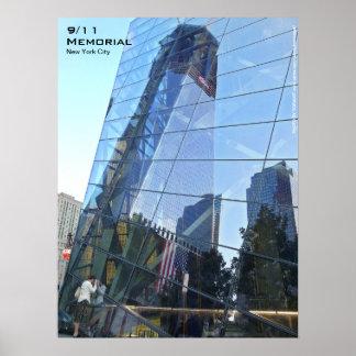Affiche commémorative 18x24 CR7 de 911 NYC