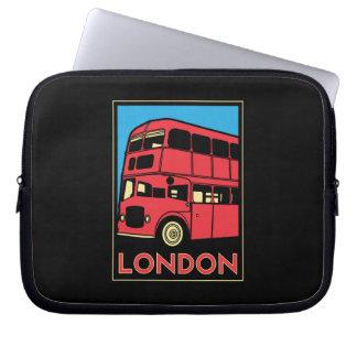 affiche d art déco de Londres Westminster Angleter Housse Pour Ordinateur Portable