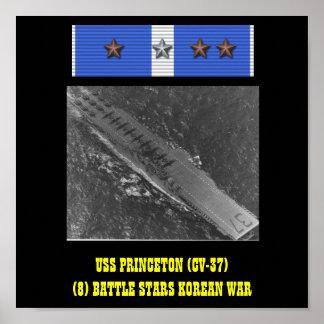 AFFICHE D USS PRINCETON CV-37