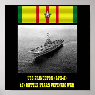 AFFICHE D USS PRINCETON LPH-5