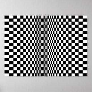 Affiche d'algorithme d'art op posters