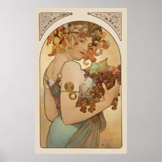 Affiche d'Alphonse Mucha CC0106