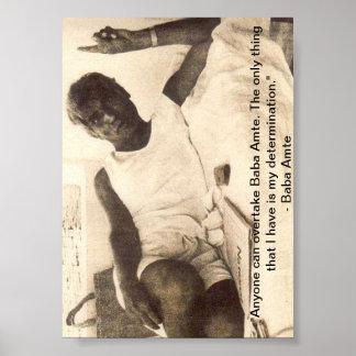 Affiche d'Amte de baba : Sur la détermination
