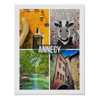 Affiche d'Annecy Poster