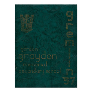 Affiche d'annuaire de GGMSS premier Posters
