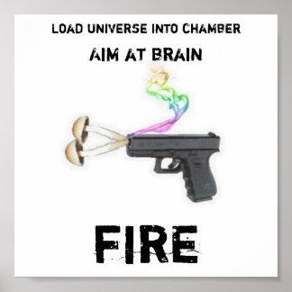Affiche d'arme à feu de Shroom