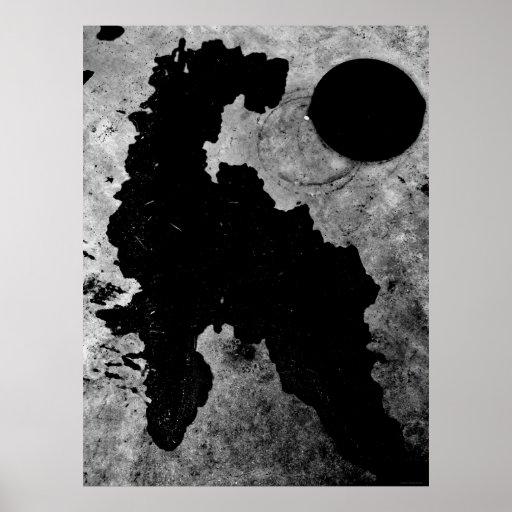"""Affiche d'art de JTG de cheval et """"de couvercle de"""