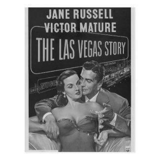 Affiche de B&W Las Vegas Cartes Postales