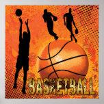 AFFICHE DE BASKET-BALL