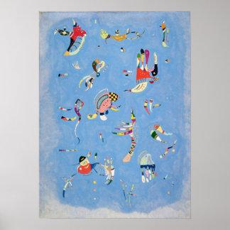 Affiche de bleu de ciel de Kandinsky