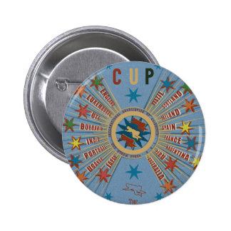 Affiche de bleu de coupe du monde de QUIDDITCH™ Pin's