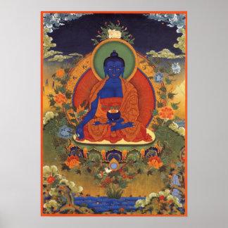 Affiche de Bouddha de médecine Posters