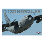 Affiche de C-130 Hercule
