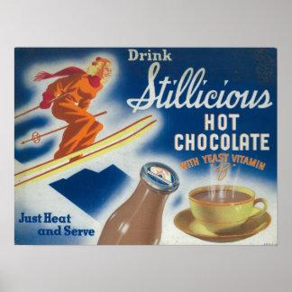 Affiche de chocolat chaud de Stillicious