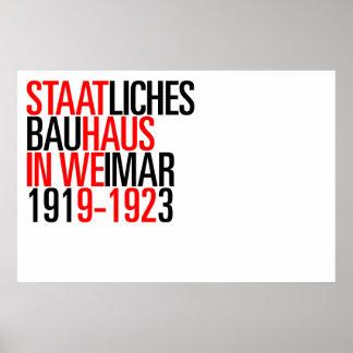 Affiche de collection de Bauhaus Posters