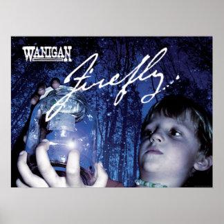 Affiche de couverture de luciole de Wanigan