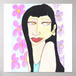 Affiche de demoiselle de honneur
