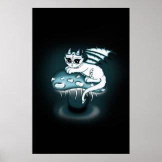Affiche de dragon de Glowy