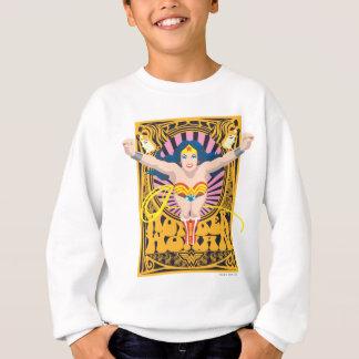 Affiche de femme de merveille sweatshirt